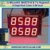 1x MAX7219 & 7's Segment 8-Digit Red Color 0.56 inch LED Display