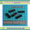 5x Female Pin Header 1x10 Pin Single Row Pitch 2.54mm (5pcs per lot)