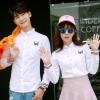 เสื้อคู่ เสื้อคู่รัก ชุดคู่รัก เสื้อคู่รักเกาหลี เสื้อคู่แฟชั่น AA008