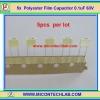 5x Polyester Film Capacitor 0.1uF 63V (5pcs per lot)