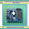 1x Multifunction Input Output Interface Arduino Shield Module