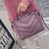 กระเป๋าแฟชั่น สีชมพูม่วง