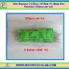 100x Resistor 2 Kohm 1/8 Watt 1% Metal film Resistor (100pcs per lot)