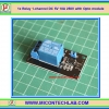 1x Relay 1-channel DC 5V 10A 250V with Opto module