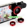 เลนส์เสริม 3 in 1 Fish Eye + Wide Angle + Micro Lens Kit สำหรับมือถือทุกรุ่น