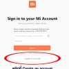 วิธีการสมัคร Mi Account