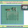 1x Acrylic Case for Arduino UNO Leonardo Board (แผ่นอะคริลิครองบอร์ด)