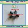 5x Electrolytic Capacitor 470uF 25V (5pcs per lot)