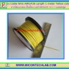 1x Cable Wire AWG#26 Length 1 meter Yellow color
