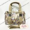 กระเป๋าทรงหมอน Chalita wu + สายสะพาย สีม่วง ลายนาฬิกา