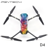 PGYTECH D4 Mavic PRO Sticker Drone Body & 2pcs battery stickers Decals For DJI Mavic PRO Drone Free Remote Control Protective Film