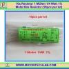 10x Resistor 1 MOhm 1/4 Watt 1% Metal film Resistor (10pcs per lot)
