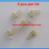 5x WAFER CONNECTOR 2 PINS RIGH ANGLE TYPE 2.54mm (5pcs per lot)