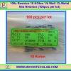 100x Resistor 10 Kohm 1/4 Watt 1% Metal film Resistor (100pcs per lot)