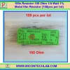 100x Resistor 100 Ohm 1/4 Watt 1% Metal film Resistor (100pcs per lot)