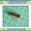 1x LM324N Quadruple Operational Amplifiers (Op-amp) IC Chip