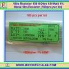 100x Resistor 150 Kohm 1/8 Watt 1% Metal film Resistor (100pcs per lot)