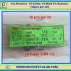 10x Resistor 15 KOhm 1/4 Watt 1% Resistor (10pcs per lot)