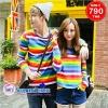 เสื้อคู่ เสื้อคู่รัก ชุดคู่รัก เสื้อคู่รักเกาหลี เสื้อคู่แฟชั่น AA013