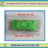 100x Resistor 50 Ohm 1/4 Watt 1% Resistor (100pcs per lot)