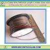1x Cable Wire AWG#26 Length 1 meter Brown color