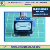 "1x Blue OLED LCD 128x64 0.96"" I2C Interface Module"