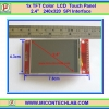 "1x TFT Color LCD Touch Panel 2.4"" 240x320 SPI Interface"