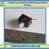1x Push-Lock Switch Self-locking Switch 12 Pins(สวิตซ์กดติดกดดับ)
