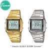 นาฬิกาคู่ นาฬิกาคู่รัก Casio DATA BANK
