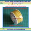 1x Wire Wrap Cable Yellow color AWG#30 (1 meter per set)