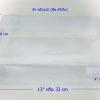 กล่องผ้าขนหนู ขนาด กว้าง 21.6 cm x ยาว 33 cm x ลึก 10.2 cm