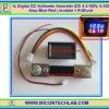 1x Digital DC Voltmeter Ammeter (DC 4.5-100V, 0-100 Amp Blue Red ) module + R-Shunt