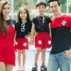 เสื้อครอบครัว ชุดครอบครัว พ่อ แม่ ลูก Hi !! Mickey Set