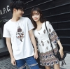 เสื้อคู่ เสื้อคู่รัก ชุดคู่รัก เสื้อคู่รักเกาหลี เสื้อคู่แฟชั่น AA010