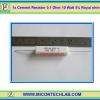 1x Cement Resistor 0.1 Ohm 10 Watt 5% Royal ohm