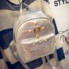 กระเป๋าเป้เล็ก สี Silver