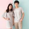 """เสื้อคู่ เสื้อคู่รัก ชุดคู่รัก เสื้อคู่รักเกาหลี เสื้อคู่แฟชั่น ลาย """"Triple Loves"""" ADX022"""