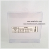 กล่องสบู่-ทรงจตุรัส ขนาด 10.5 x 10.5 x 2 cm