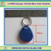1x RFID Keytags 125 KHz Key tag Keyfobs Blue Color (อาร์เอฟไอดีคีย์แทกสีน้ำเงิน)