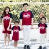 เสื้อครอบครัว ชุดครอบครัว พ่อ แม่ ลูก Super love set Collection