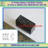 1x Power Relay Coil 9 Vdc Fujitsu 2 Form C (DPDT) AC 250V/5A DC 24V 5A