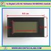 1x ดิจิตอลแอลซีดีเอซีโวลต์มิเตอร์ 80-500VAC (Digital LCD AC Voltmeter)