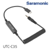 Saramonic UTC-C35 Locking 3.5mm Male Jack to USB Type-C Connector for Samsung Galaxy, LG, HTC Google Pixel, Google Nexus, Other USB C Type Smartphones