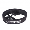 สายคล้องกล้อง Pentax White on Black Neck Strap Neoprene