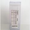 กล่องใส่ขวด-เครื่องสำอางค์ ขนาด 4 x 4 x 11 cm