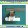 """1x Solenoid Magnetic Valve DC 12V For Water Air Flow Switch 1/2"""" Inch"""