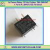 1x Power Relay 12 Vdc Fujitsu 20A 250VAC 1 Form A ( SPST) Tab Terminal