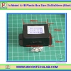 1x Model: A-1B Plastic Box Size:35x50x30mm (Black)