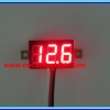 1x Mini Digital DC Voltmeter module 0-100 Vdc RED LED 7's Segment 2 Wires