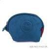 กระเป๋าคล้องมือผ้าลิง สีฟ้า